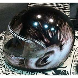 Rotulación de casco integral